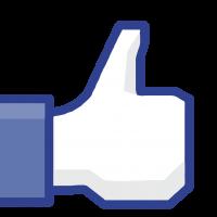 Alteração da página oficial no Facebook